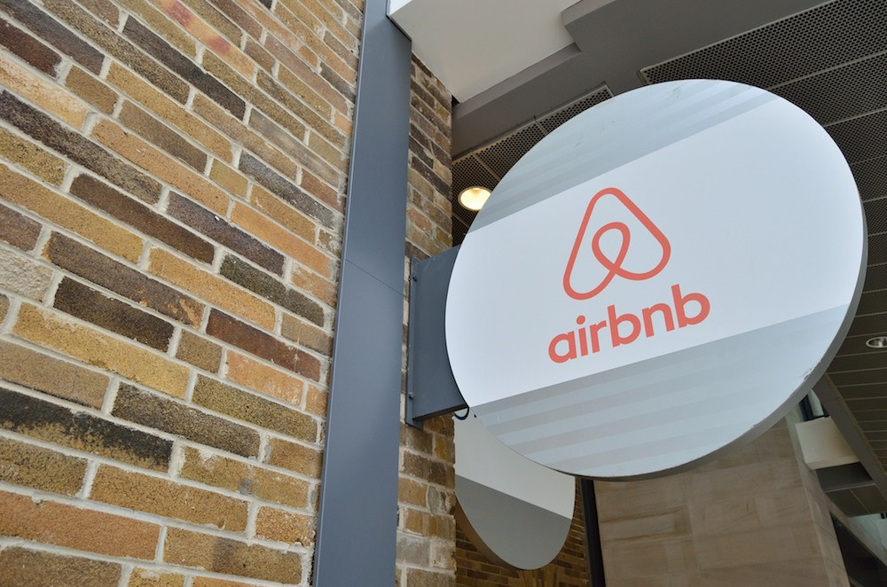 Fachada do Airbnb