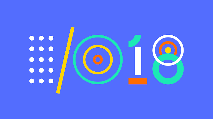 Logo da Google I/O 2018
