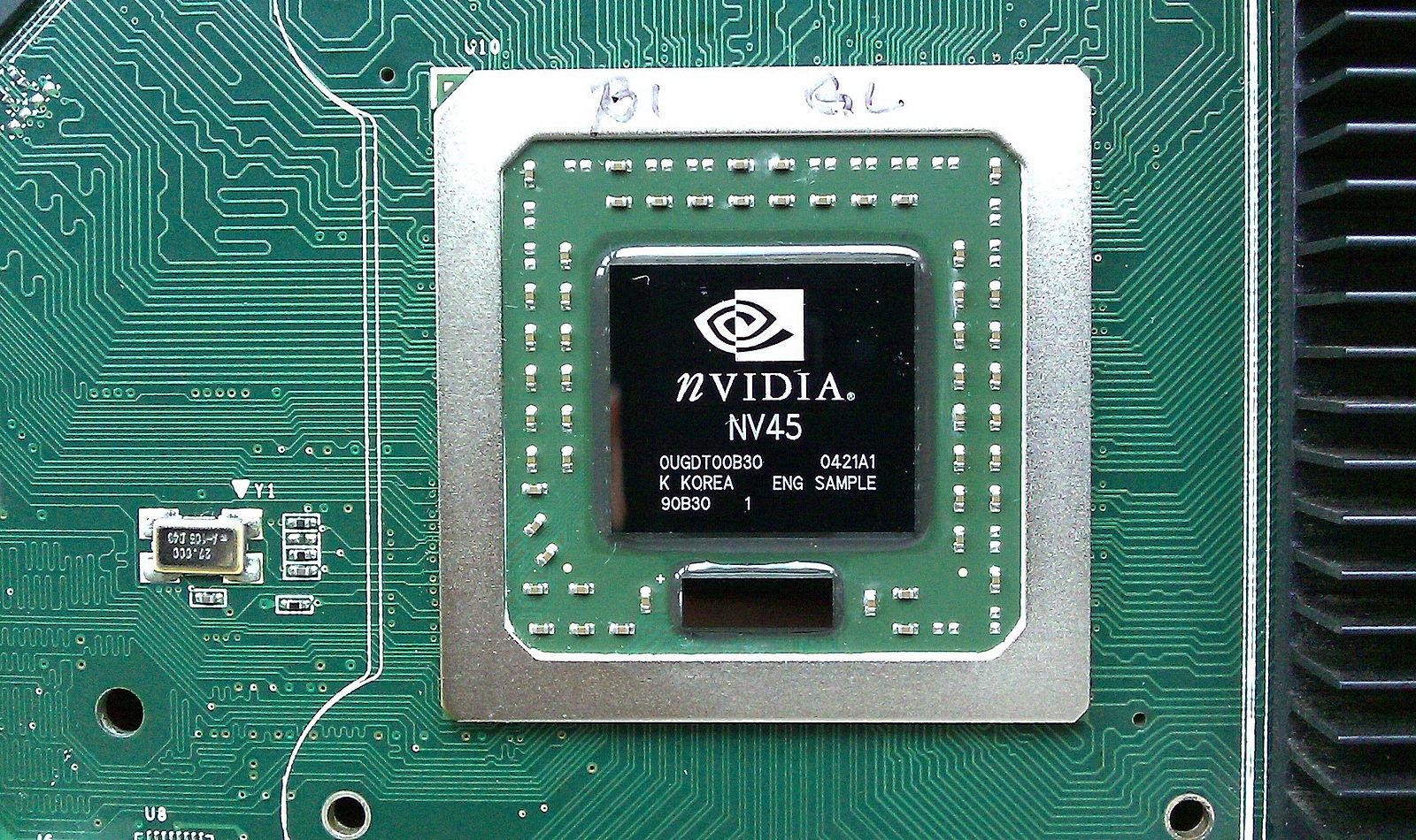 Placa de GPU da NVIDIA