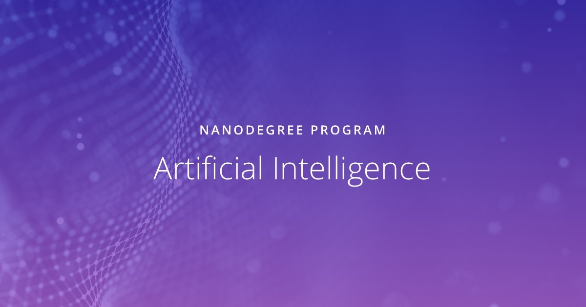 Artificial Intelligence Udacity